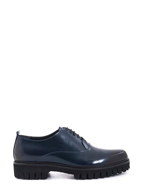 Kemal Tanca Bağcıklı Klasik Ayakkabı Lacivert